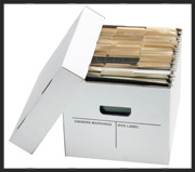 Record Storage Carton