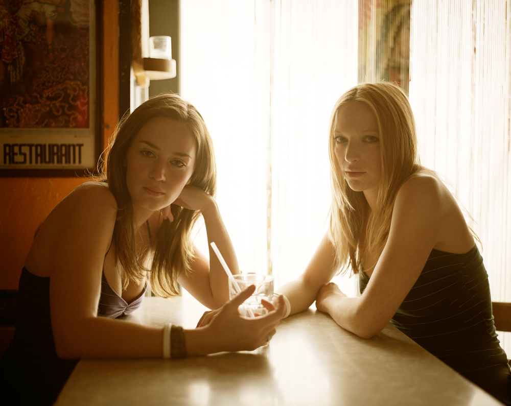 Emily Blunt & Natalie Press