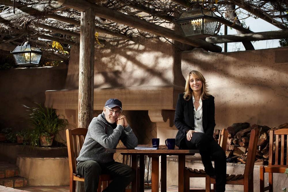 Steven Spielberg & Stacy Snider