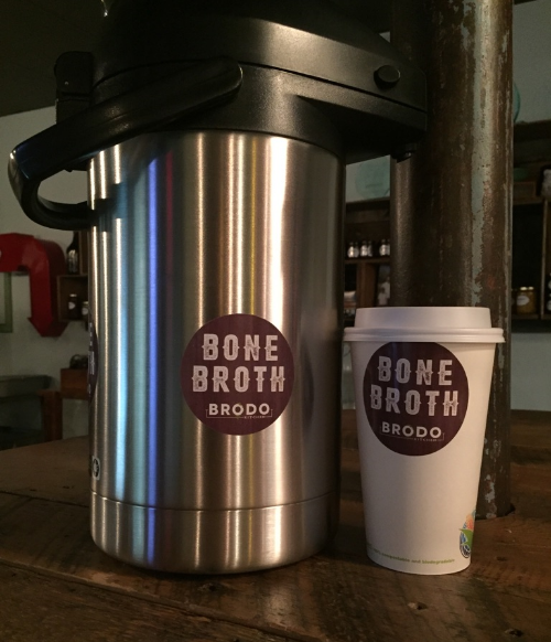Skip the coffee, try bone broth!