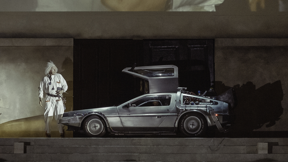 Doc & The Delorean.