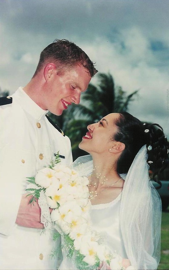 2002 Saipan wedding