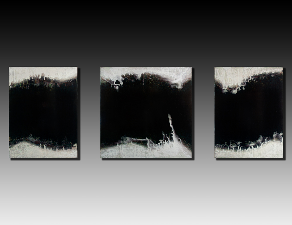 Shaun Whiteside - 2015 Gulf triptych 48x144 inches