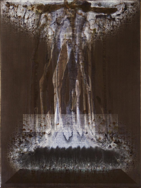 Shaun C. Whiteside,  Soul Ache II , Acrylic
