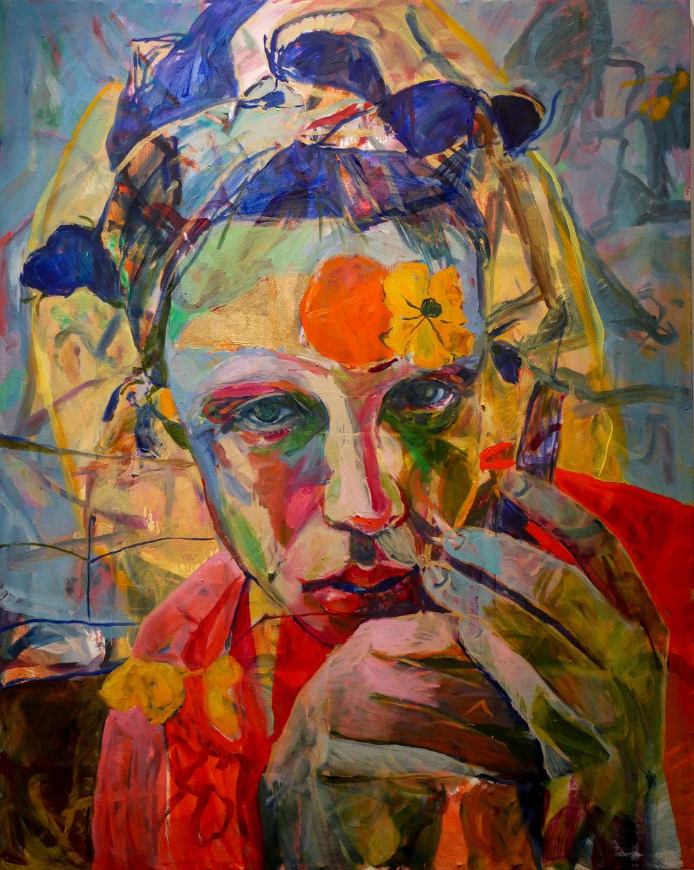 Caroline Absher   Ode to Tim  oil on canvas