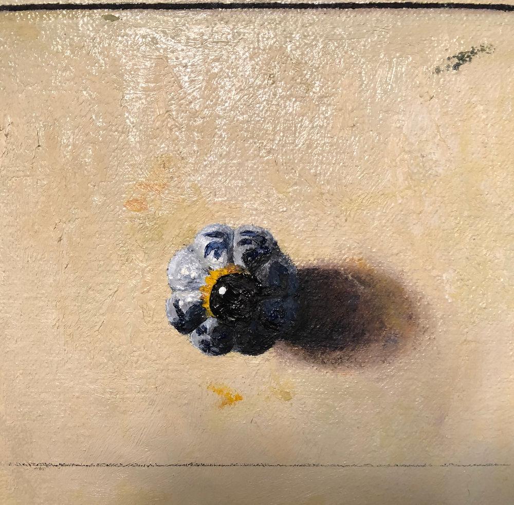 Detail of  Annette's Dresser  oil on canvas