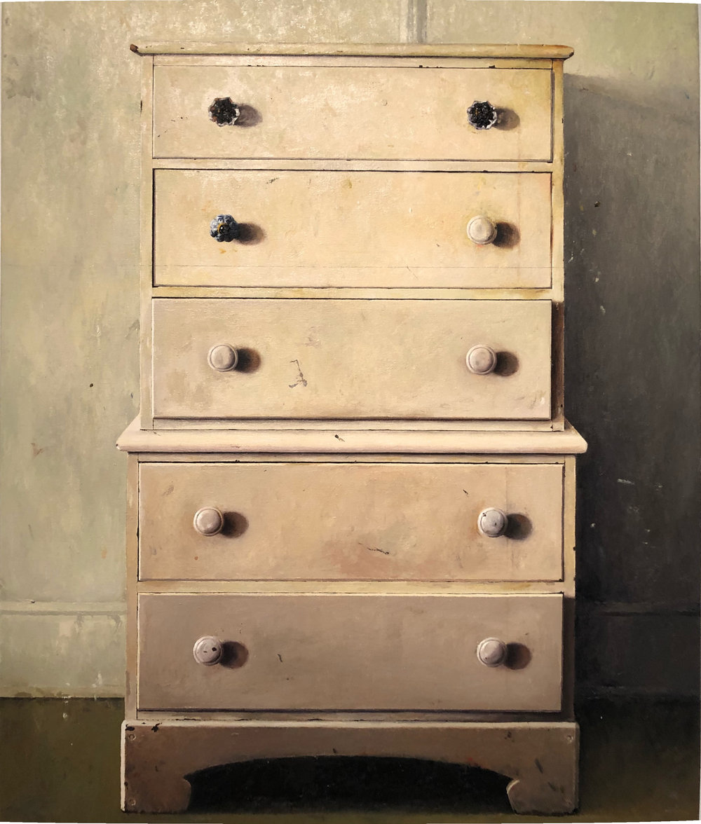 Andrew Shears  Annette's Dresser  oil on canvas