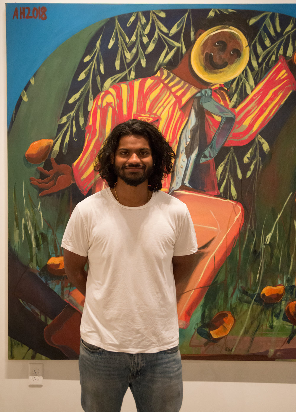 Asif Hoque at the Linda Matney Gallery