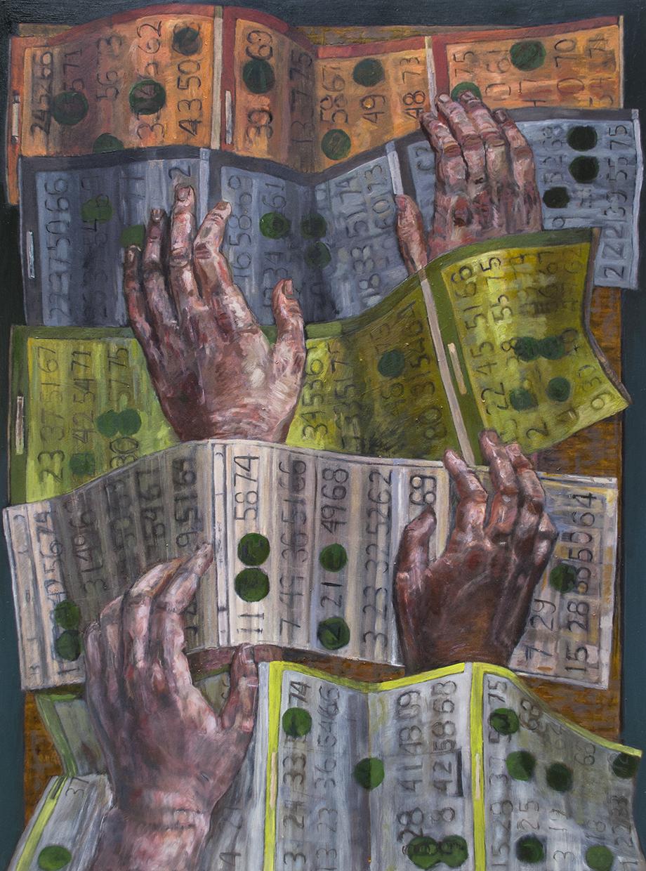 Teddy Johnson  ,  Bingo II , 2018,  Contact Gallery
