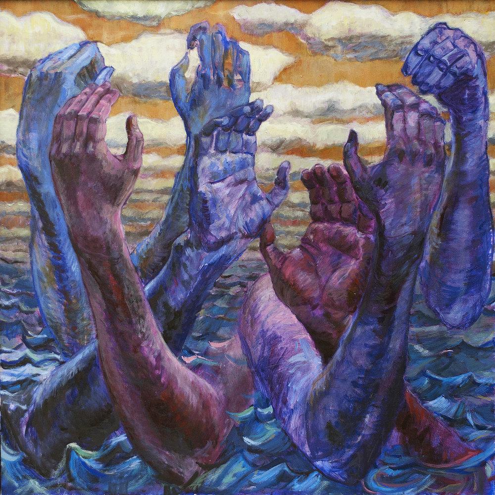 Teddy Johnson ,  Across the Ocean Deep , 2017,  Linda Matney Gallery , $3,200,  Contact Gallery