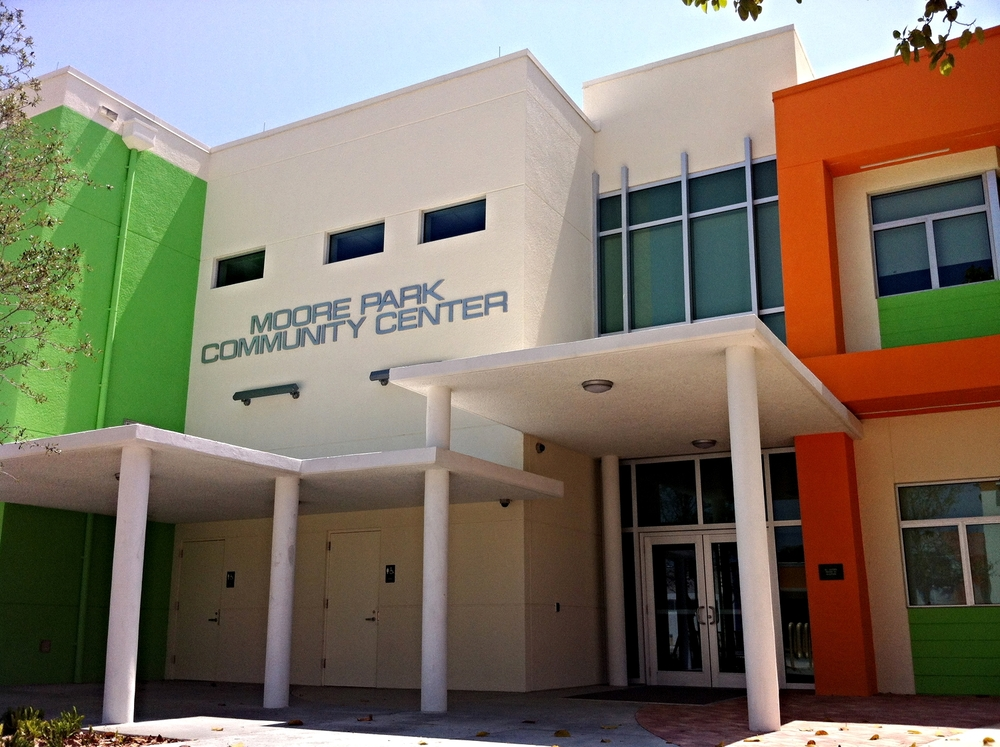 Moore Park - Community center*