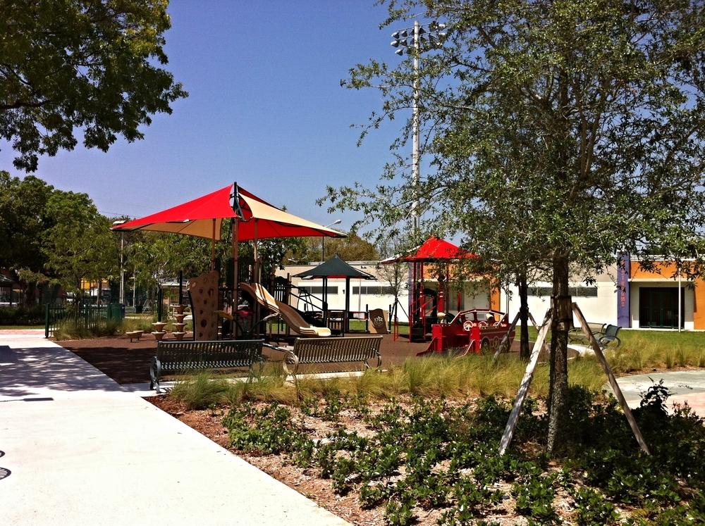 Moore Park - Children's playground area*