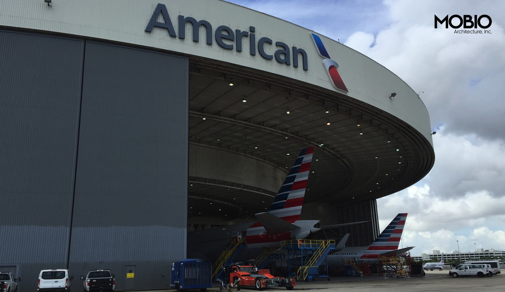 Copy of MIA American Airlines Signage