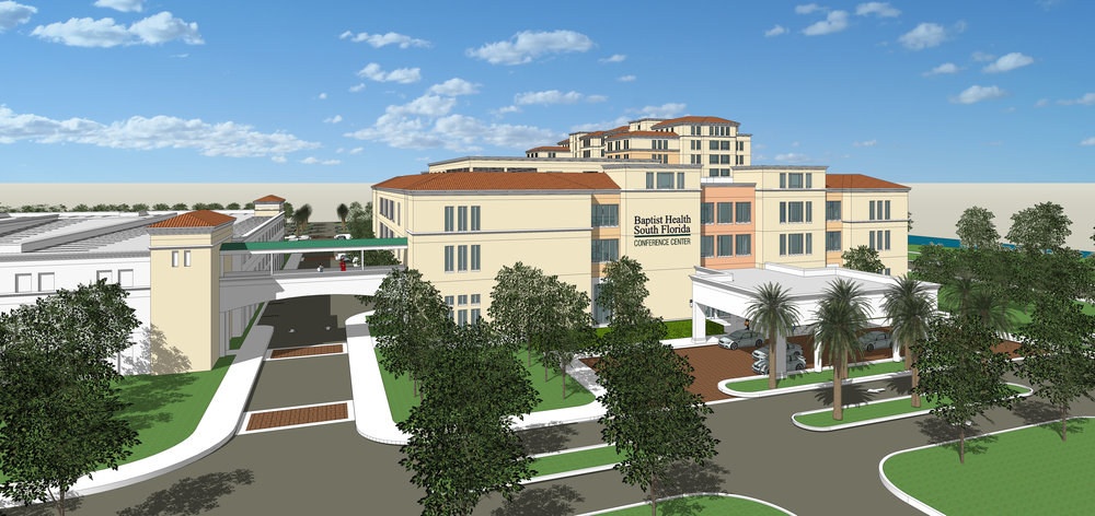 Baptist Health South Florida Hotel, Conference Center, Wellness Center and Parking Garage