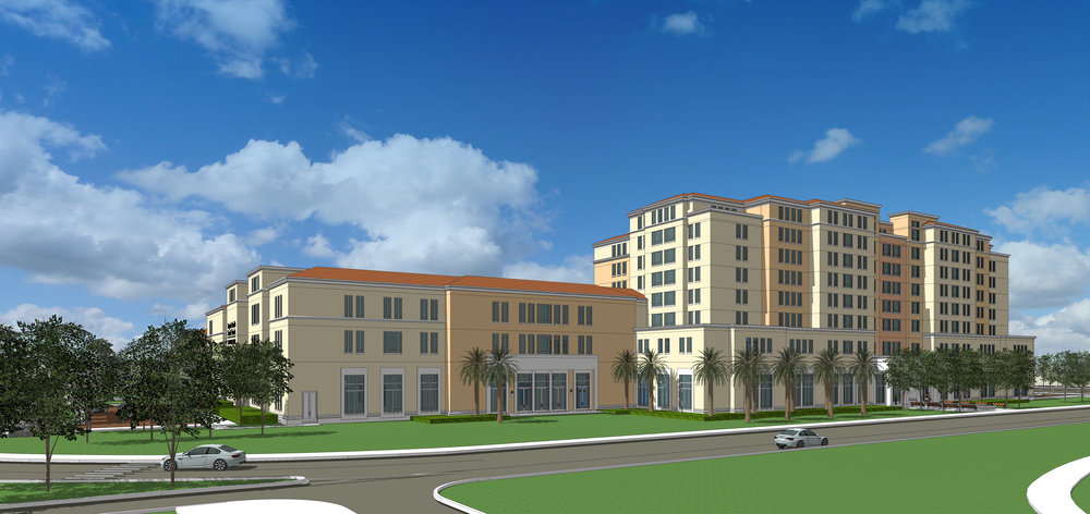 Baptist Health South Florida Hotel, Conference Center and Wellness Center and Parking Garage