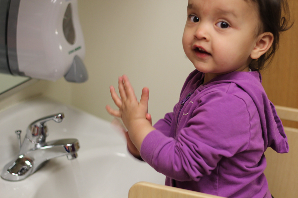 Yes, you really do need to wash your hands. But it'll be fun! Really!