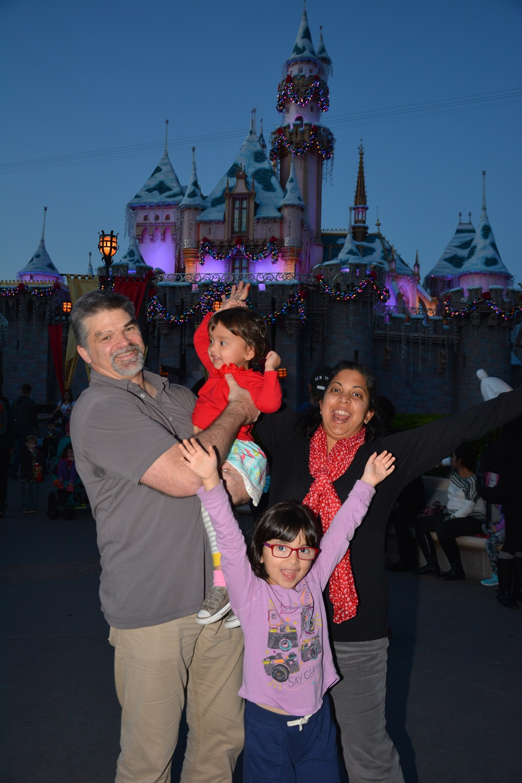 December 2014, Disneyland