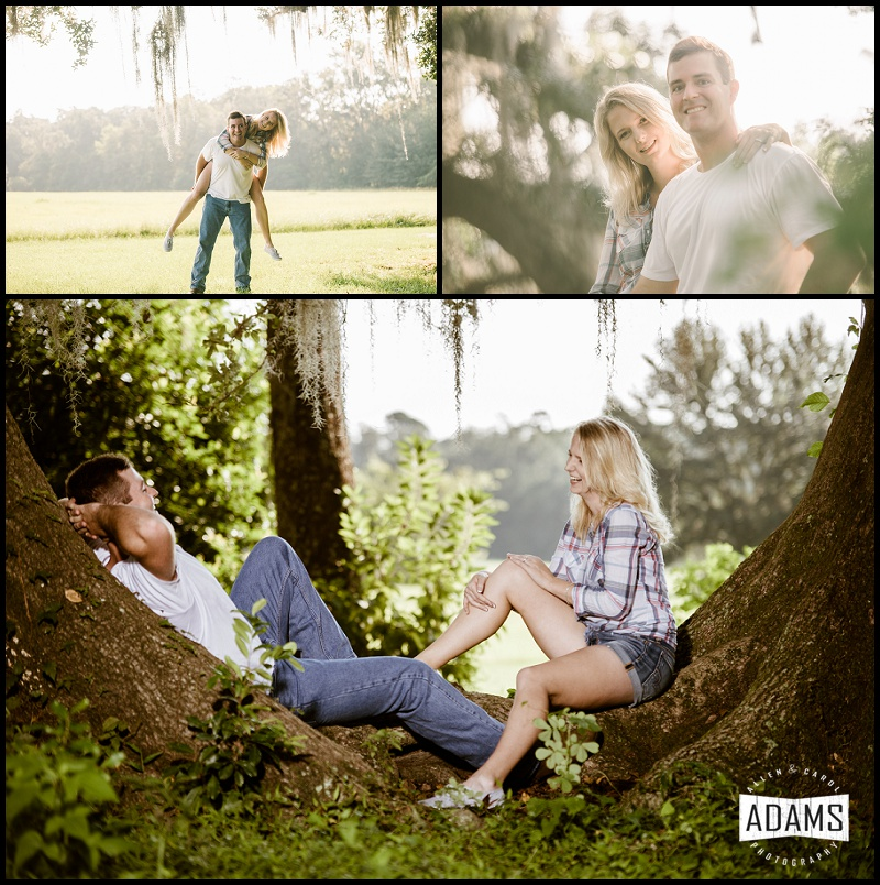 fun engagement photos