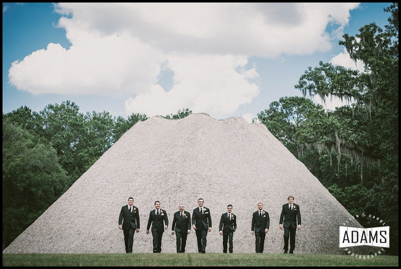 mission san luis wedding groomsmen