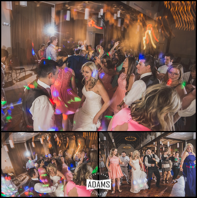 HAVING THE RIGHT DJ CAN MAKE OR BREAK THE RECEPTION. FROM THE ANNOUNCING TO THE MUSIC, TO THE LIGHTING--IT ALL MAKES A DIFFERENCE.   NATE @ AMPLIFIED ENTERTAINMENT  OBVIOUSLY ROCKED THIS RECEPTION!!