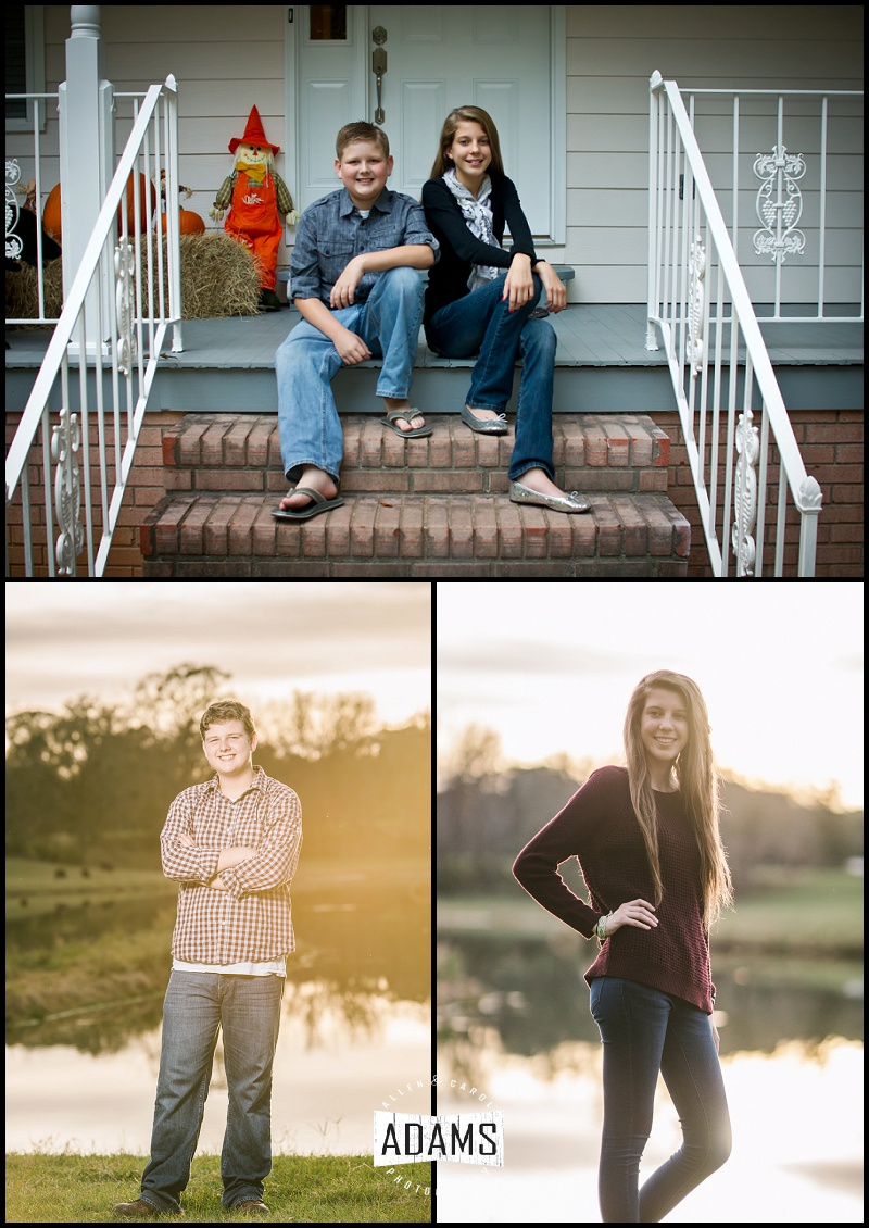 FROM OUR FIRST FAMILY SHOOT WITH THEM TO OUR MOST RECENT: AMAZED AT HOW THESE TWO HAVE GROWN FROM ADORABLE KIDS INTO AWESOME YOUNG ADULTS.  WHAT AN AMAZING JOB WE HAVE GETTING TO CAPTURE THESE DIFFERENT STAGES OF LIFE.