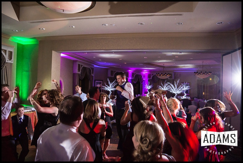THERE'S ALWAYS ONE CRAZY DANCER THAT STANDS OUT AMONG THE REST!  AT LEAST THAT'S WHAT WE HOPE FOR!  THEY USUALLY HELP BRING LIFE TO THE RECEPTION!