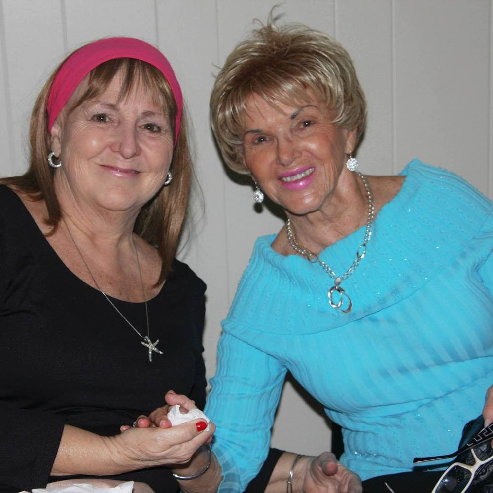 MY MOM...AND HER MOM. SERIOUSLY CAN'T TYPE THAT WITHOUT TEARS.  MY GRANDMA HAS BEEN SUCH A PRAYER WARRIOR FOR ALL OF US.