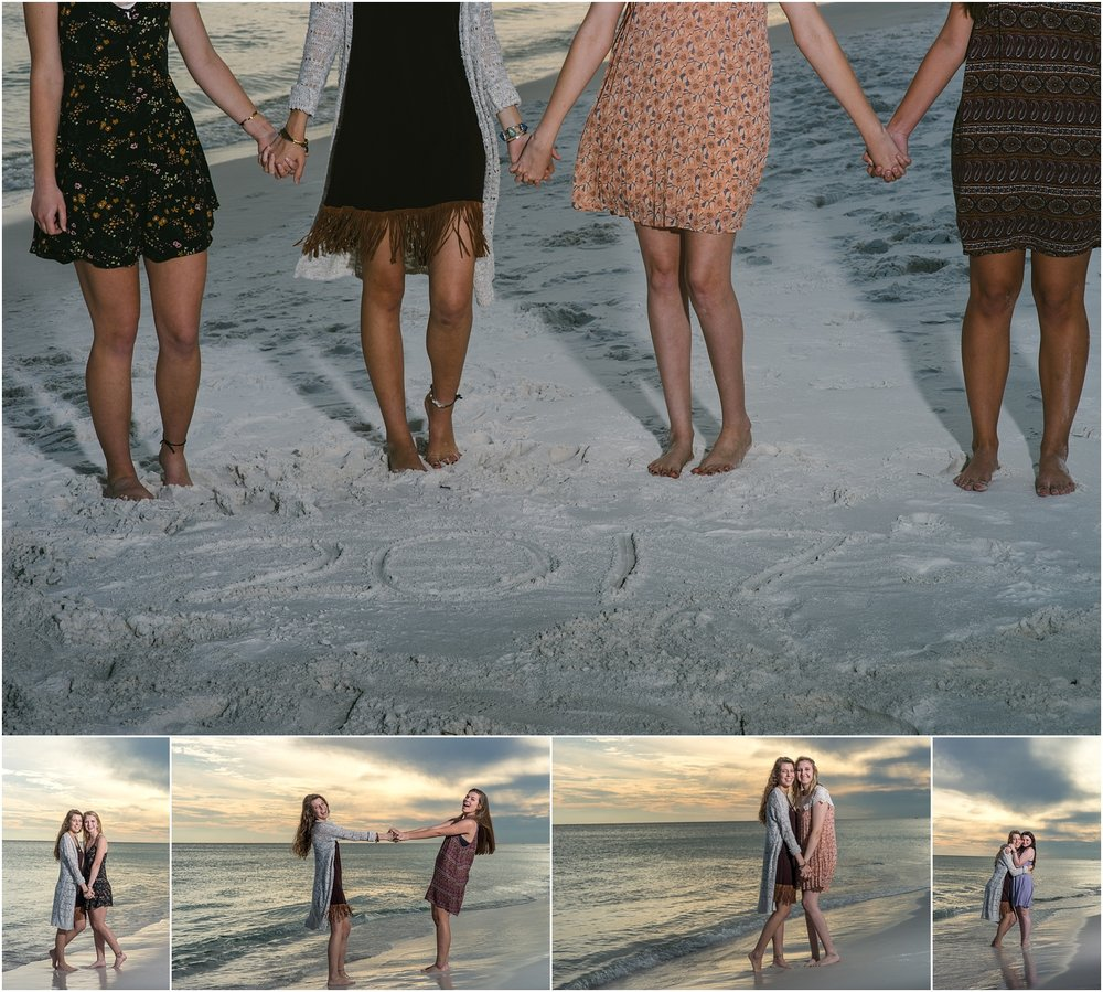 Destin Senior Photographer Best Friends