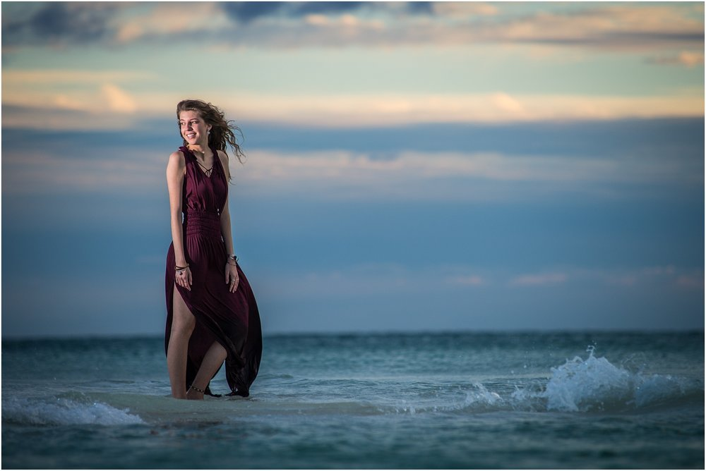 Destin Beach Senior Photos