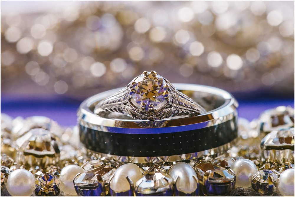 Oh that gorgeous antique wedding ring!