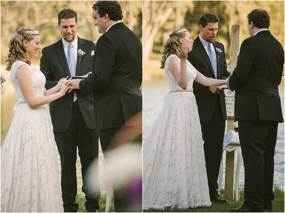 Watching this bride truly worship in the middle of her ceremony brought me (Carol) more tears.