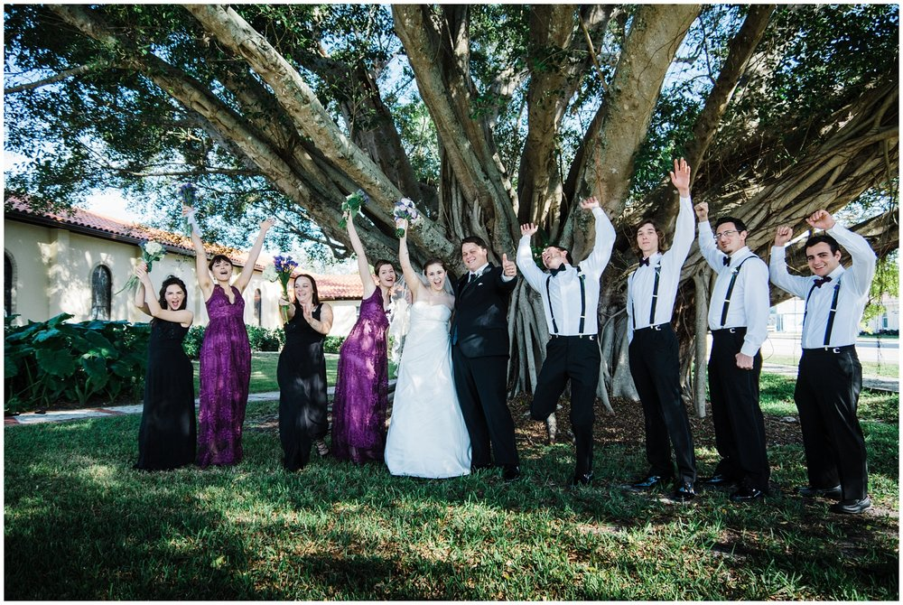 The Wedding Party!!! They were so much fun to photograph and hang out with!