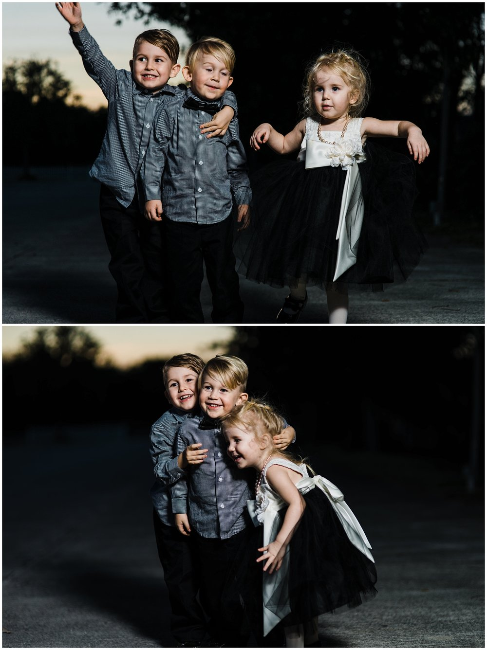 Okay! Maybe it gets a little bit sweeter. Hee-Hee. These cousins are just the cutest!  That's a whole lotta love goin on, yall!