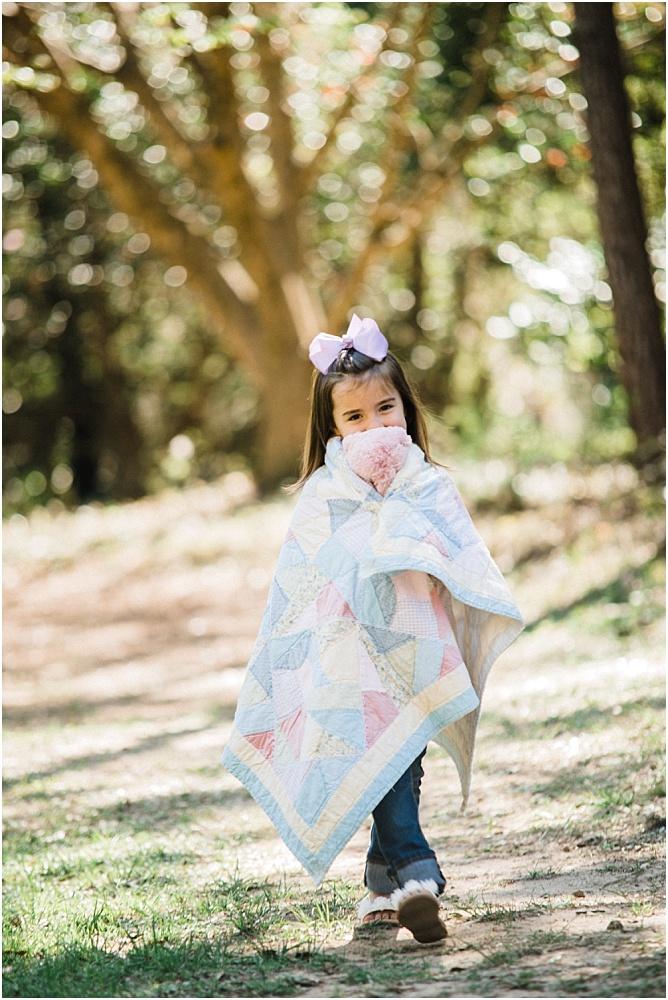 We were so excited that her Nana decided to bring along her Blankey and favorite stuffed animal! It made the shoot so personal and adorable! Aren't Nanas the best?!