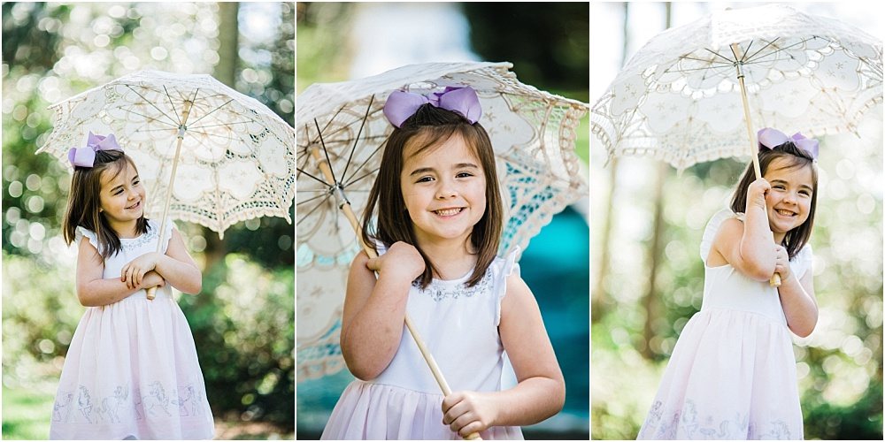 She sure loved this umbrella that we brought. It went so perfect with her outfit and she knew how to twirl it like a pro!