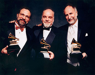 The Grammys 2005!! Eliot Wadopian, Paul Sullivan and Eugene Friesen. Big night!!