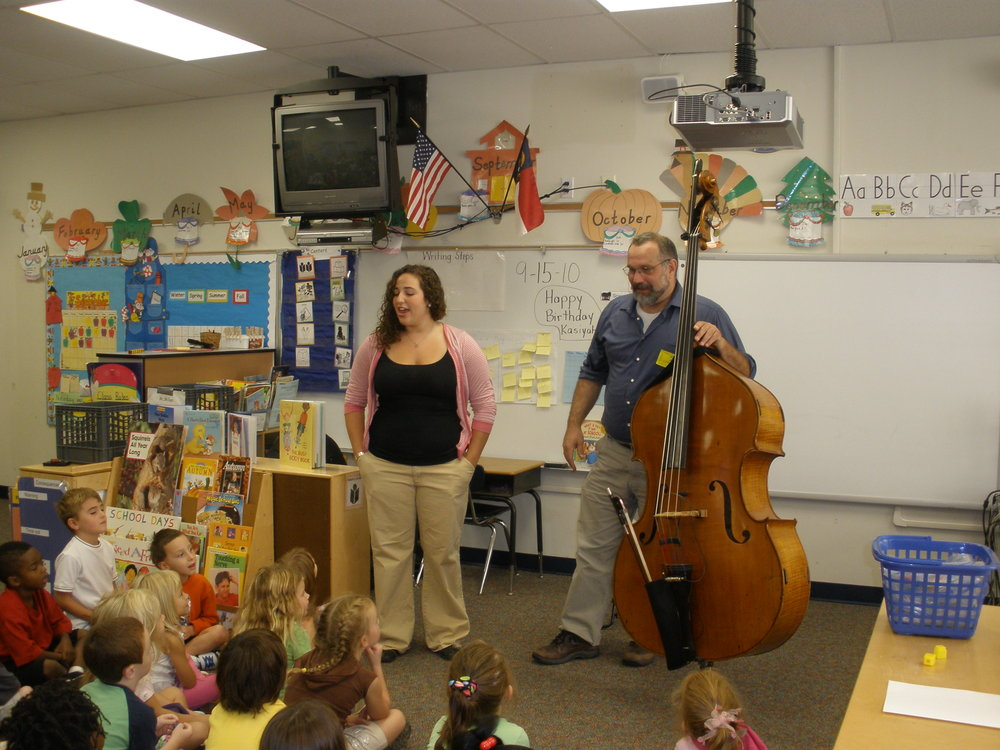 Performing for my daughter Lael's class 2010.