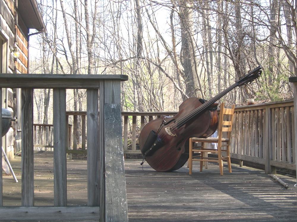 Abraham Prescott double bass c.1815