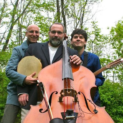 My brothers in World Music in NC.  Left to Right: River Guerguerian, Eliot and Chris Rosser