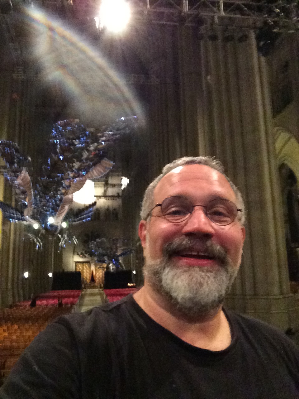 Thrilled to be at St. John the Divine in NYC for the 35th annual Winter Solstice Celebration with the Paul Winter Consort and Danny Rivera.