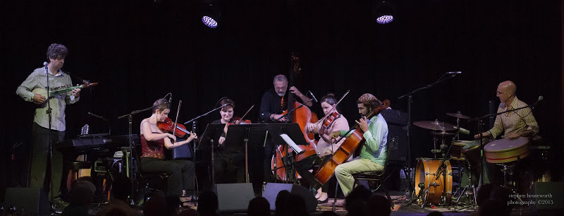 Free Planet Radio and the Opal String Quartet in concert. Isis Music Hall, Asheville, NC.  8/28/15