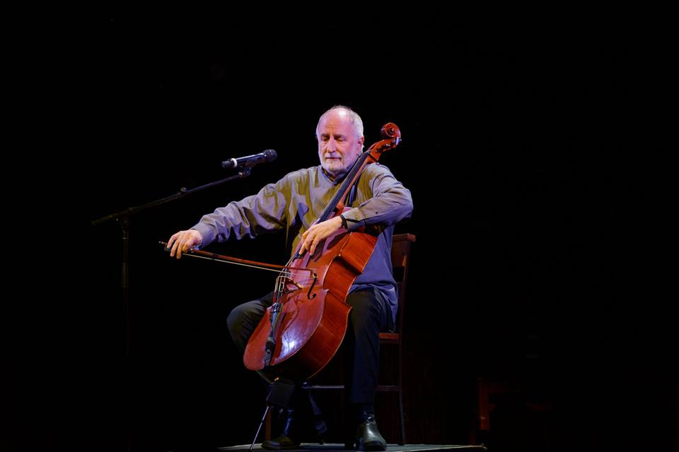 One of my most important teachers and dear friend. Eugene Friesen, cello, Winter Solstice 2016