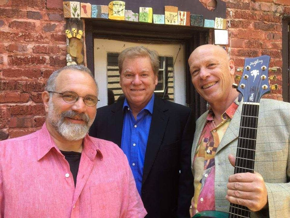 Come out for a nice evening of jazz originals with bassist Eliot Wadopian, guitarist Mark Guest and percussionist Byron Hedgepeth. Please call PM or call/text Becki at 828 775-9251 for details.   More Info Here!