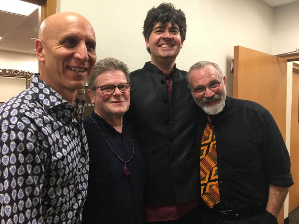 This musical journey amazes me. Here are Free Planet Radio and the great film composer Gustavo Santaolalla after performance at Gladdening Light Symposium 2018 in Winter Park, FL.
