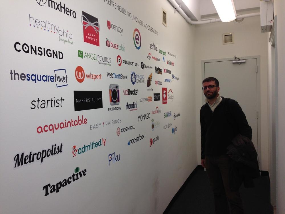 Patrick Lardi, COO of Newscron at ERA incubator