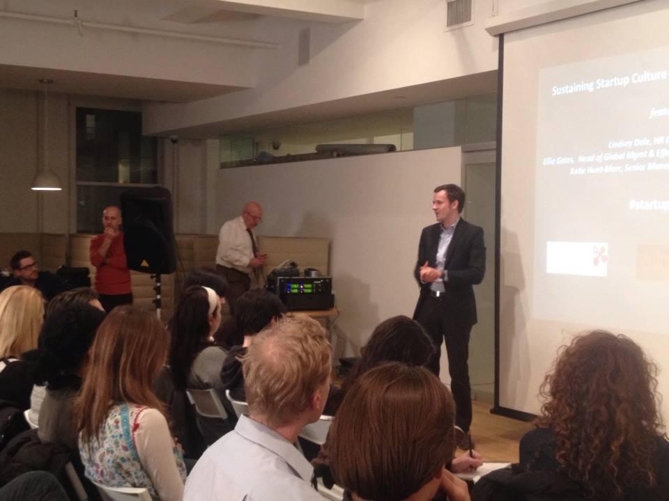 Pierre Dorsaz introducing swissnex activities