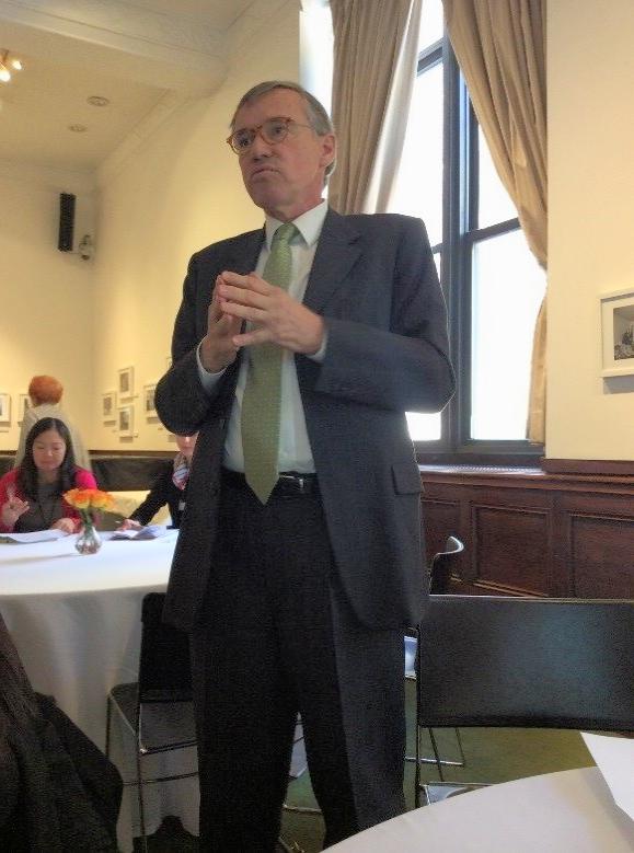 Francois Barras, Ambassador, Consul General of Switzerland