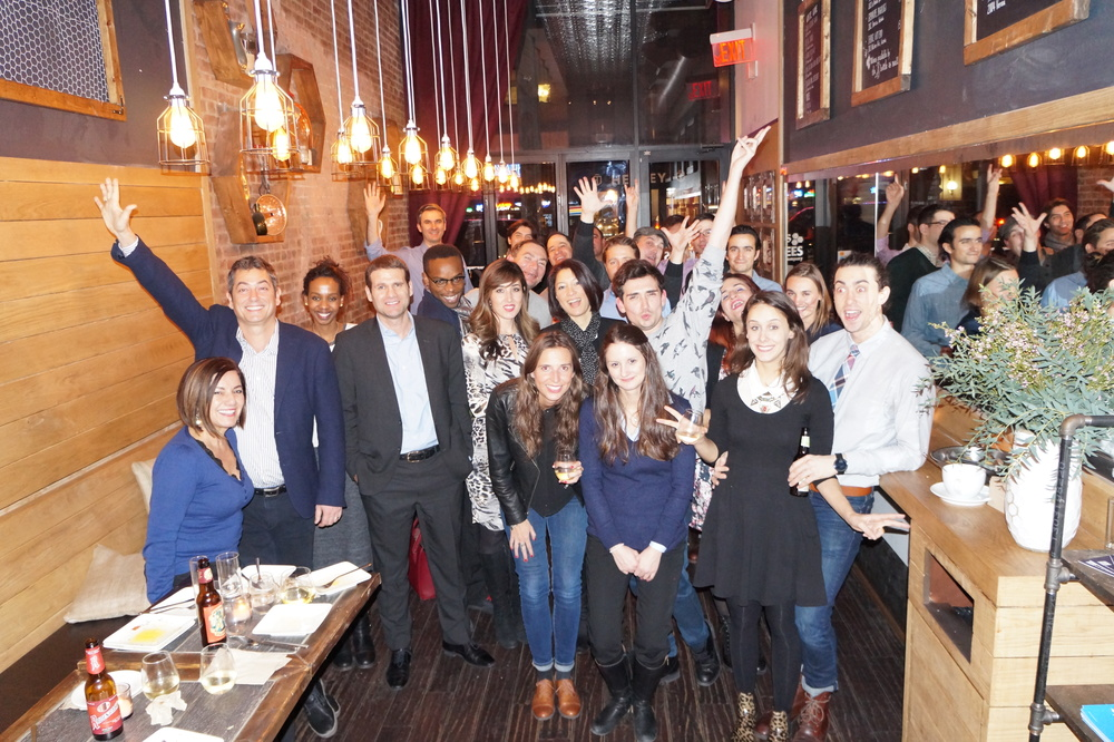 30 HEC alumni and friends of hec lausanne attended the raclette part on jan 15