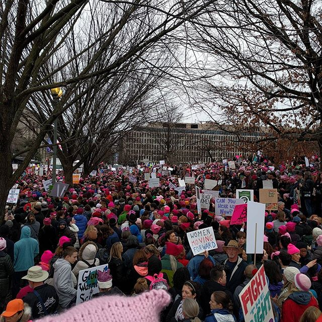 Keep 'em coming ladies!!! #cantstop #wontstop #womensmarchonwashington