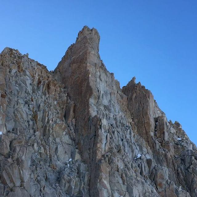 The descent. #glissade #mtwhitney